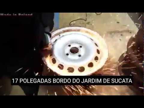 Fogão de Madeira Com Jantes de Carro DIY/Wood Stove From Car Rims DIY