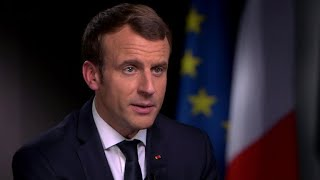 """Macron: """"Mistake"""" for U.S. to withdraw from Paris climate accord"""