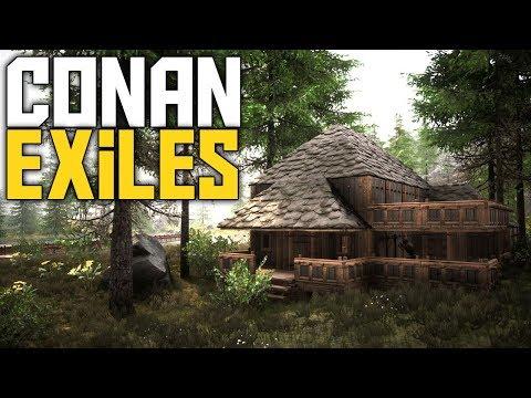 Conan Exiles Season 2 - Building A Town! - Ep 14 - Conan Exiles Gameplay