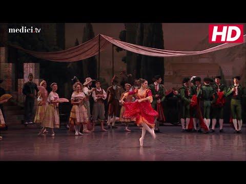 Petipa / Nureyev /Minkus: Don Quixote - Act1: Basilio, Kitri Variation
