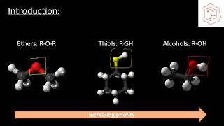 SCH4U/Grade 12 Chemistry: Alcohols, Ethers and Thiols