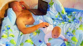 Hilarious Dads - Funny Baby And Daddy