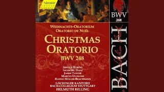 Christmas Oratorio, BWV 248, Pt. 1: Und da die Engel von ihnen gen Himmel fuhren (Tenor)