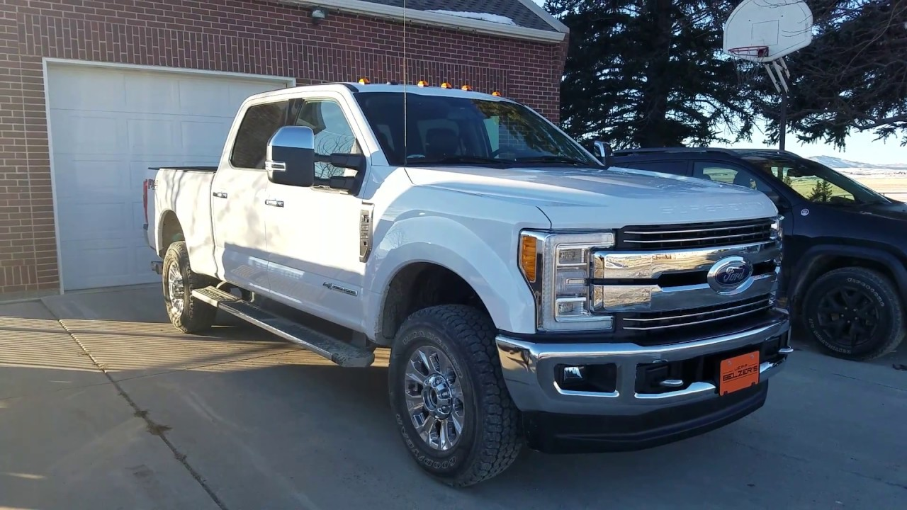 2018 Ford F350 Lariat Review - YouTube