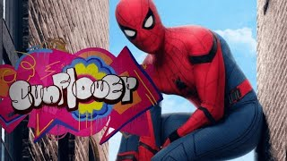 sunflower -post Malone ft swae lee,spiderman homecoming