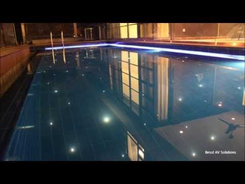 Swimming Pool Fiber Optic Lighting Youtube