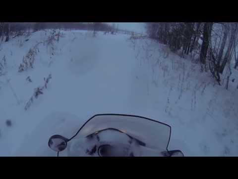 первый раз на снегоходе Lynx ranger alpine 69 /2
