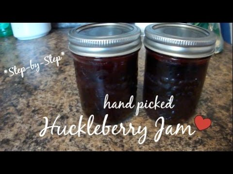 how to make blueberry jam youtube