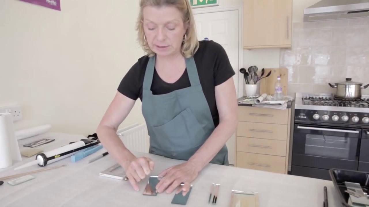 Cutting Thin Strips For Gl Mosaic