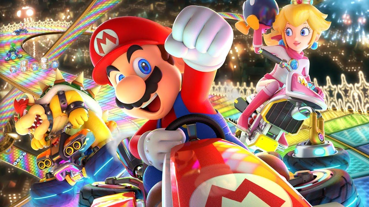 Mario Kart 8 Deluxe Online Multiplayer Gameplay Nintendo Switch