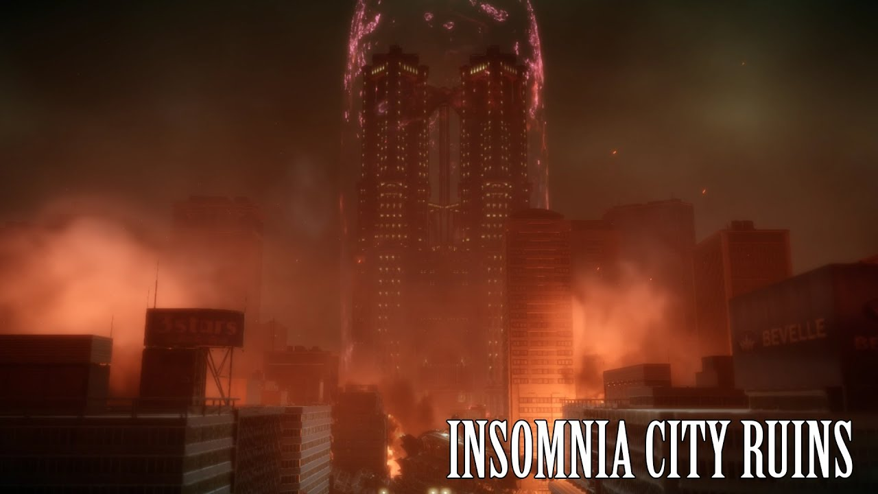 how to get insomnia city ruins
