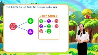 Math For Kids - Lesson 9. Fact Families within 10 for kids | 1st Grade