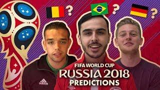 EDIVISIE VOORSPELT HET WK 2018!