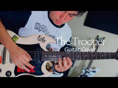 Iron Maiden - The Trooper (Guitar Cover by Diego Gordillo)