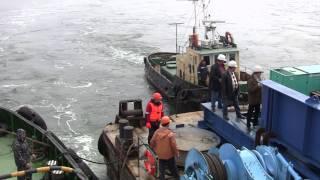 Морская операция по доставке 300-тонной панели(, 2011-06-10T11:03:08.000Z)