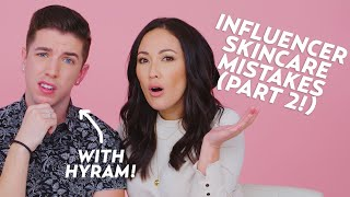 Influencer Skincare Mistakes (Part 2) with @Hyram! | Beauty with @Susan Yara