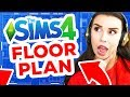 FLOOR PLAN CHALLENGE *IMPOSSIBLE ROOFING* [ The Sims 4 ]