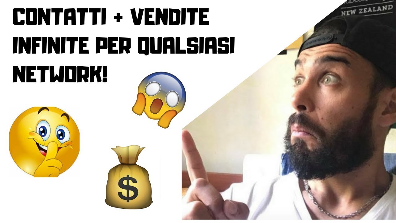 Come FARE CONTATTI e VENDITE in AUTOMATICO In HERBALIFE NETWORK MARKETING FUNNEL