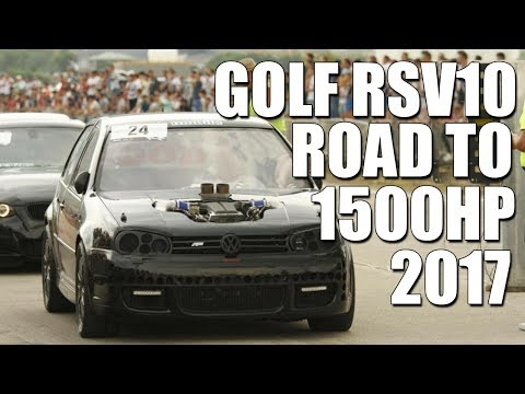 ONE OF THE FASTEST VW IN THE WORLD - ROAD TO 1500 HP - GOLF RS V10 SWAP 2017 PROJECT
