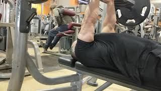 American Gridiron Bar Close Grip Bench