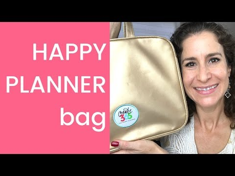 What's In My Happy Planner Bag?
