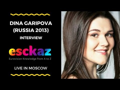 ESCKAZ in Moscow: Interview with Dina Garipova - Russia 2013