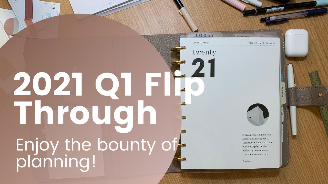 # 2021 Q1 Flip Through Catch All Planner