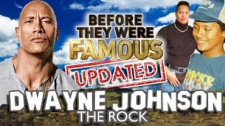 DWAYNE JOHNSON - Before They Were Famous - THE ROCK - UPDATED