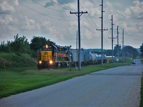 Trains of the Peoria, IL Area