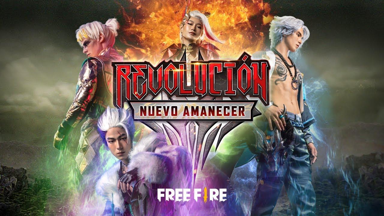La leyenda de los cuatro 🔥 - Revolución: Nuevo Amanecer | Garena Free Fire