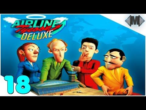 AIRLINE TYCOON DELUXE ★ #18 Die arbeitet gar nicht!! ★ [Let's Play][Deutsch German Gameplay][HD+]