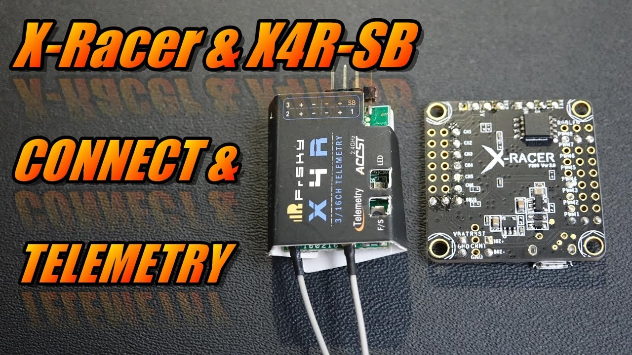 X-Racer & X4R-SB: Connect & Telemetry on