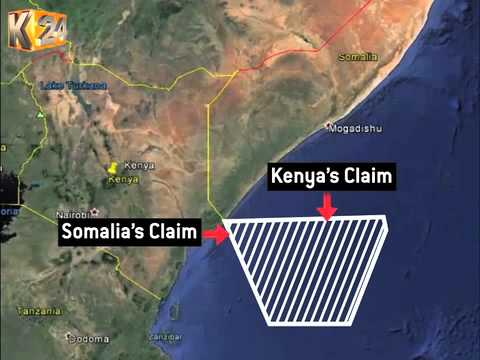 Somalia sues Kenya at Intl. Court of Justice over Indian Ocean border row