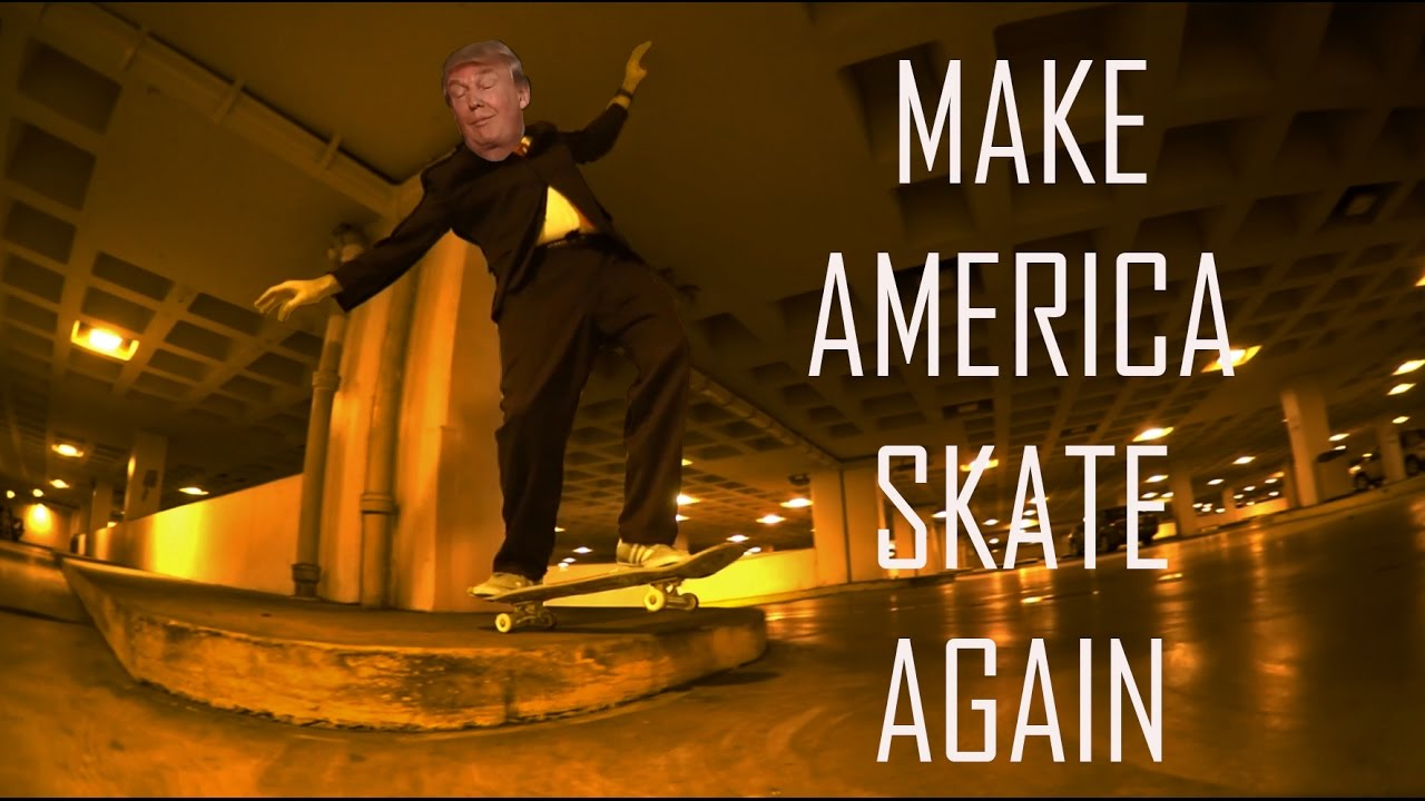 Donald Trump Skateboarding Youtube