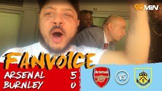 Arsenal thrash Burnley 5-0!   Arsenal 5-0 Burnley   90min FanVoice