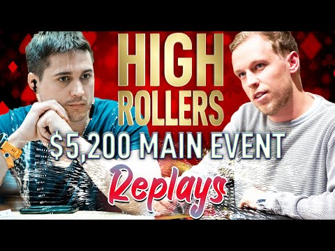 HIGH ROLLERS ME $5,200 Veeea | C. Darwin2 | €urop€an Final Table Replays 2019