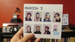 MAROON 5 - RED PILL BLUES [DIGIPAK VERSION] (CD UNBOXING)