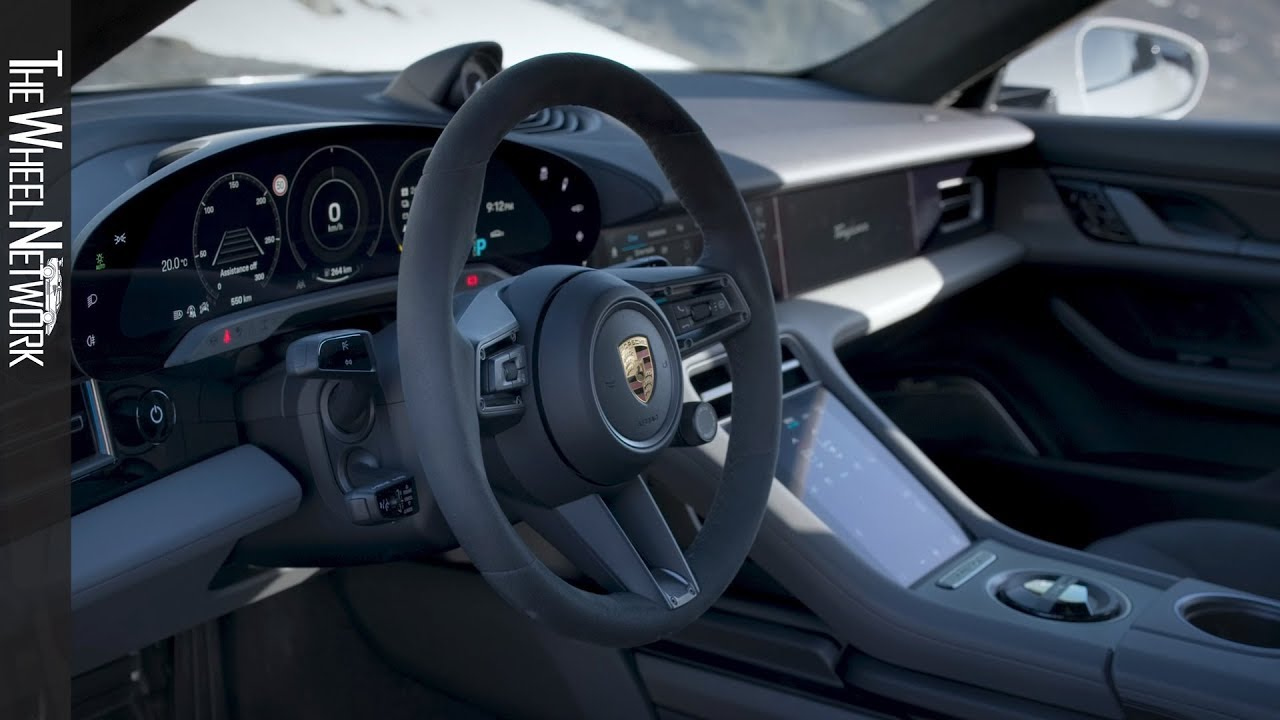 2020 Porsche Taycan Turbo S Interior