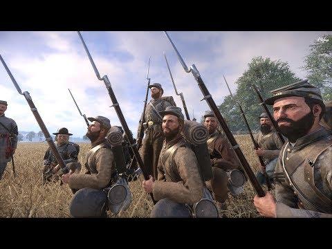 War of Rights - Drill Camp - 38th North Carolina & 1st Texas Regiment