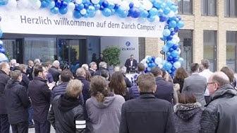 Einzug auf den Zurich Campus
