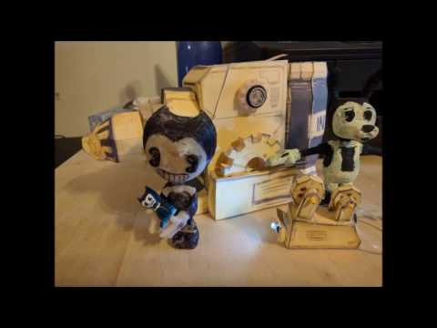 #BATIM Bendy: The Projector. A Paper Model you can make!