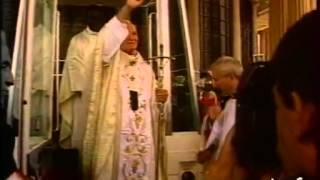 CONSECRATION DE LA BASILIQUE NDP DE YAMOUSSOUKRO 1990