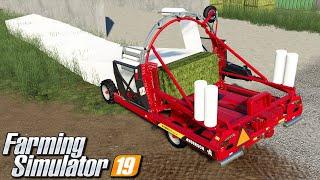 Owijarka szeregowa - Farming Simulator 19 | #109