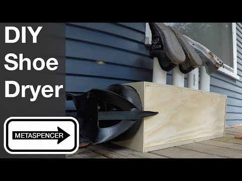 DIY Shoe Dryer