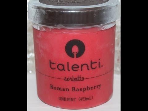 Talenti Sorbetto: Roman Raspberry Review