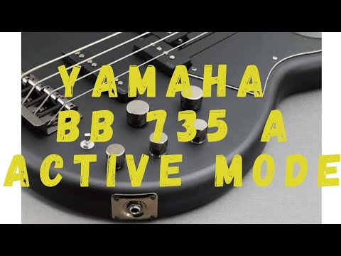 Yamaha BB 735a ACTIVE