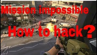 How to hack mission impossible version 1.0.4