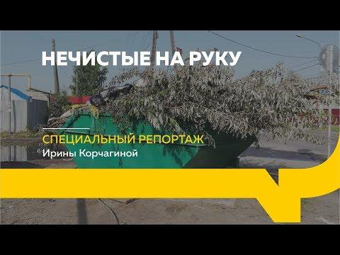 Специальный репортаж: незаконный вывоз мусора