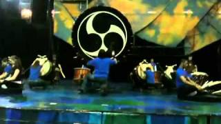 Mystère taiko drummers