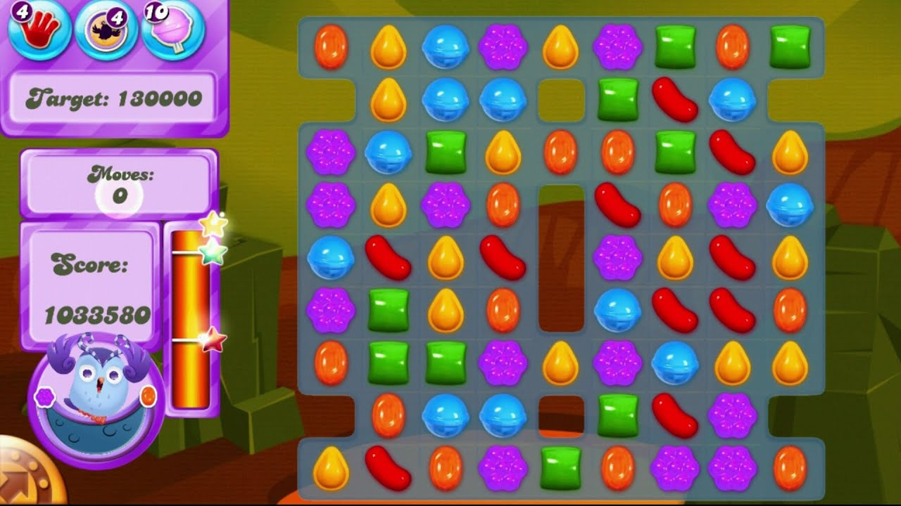 It is a photo of Striking Candy Crush Pictures